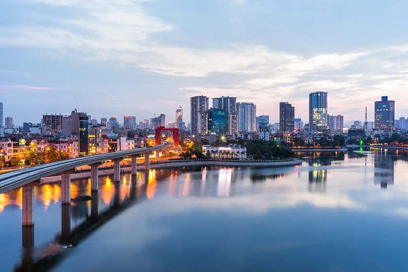vietnam-skyline-night-hanoi-priya-travels